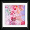 "Studio Works Modern ""Flowers of Okavango - Red"" by Zhee Singer Framed Graphic Art"