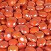 Wholesalers USA 5 lbs of  Glass Gems in Opal Orange