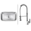 "Ruvati 31.5"" x 18.25"" Kitchen Sink with Faucet"