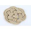 DEI Latitude 38 Nautical Jute Rope Knot Trivet