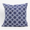 DEI Latitude 38 Nautical Circle Cotton Throw Pillow