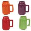 DEI Mason 18 oz. Jar Mug (Set of 4)