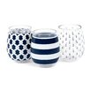 DEI Nautical Stemless Wine Glass (Set of 3)