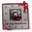 """DEI Zi """"My Dog Rescued Me"""" Picture Frame"""