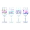 DEI The Vineyard 4 Piece 20 oz. Wine Glass Set