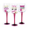 DEI The Vineyard 3 Piece 18 oz. Wine Glass Set