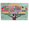 DEI Farm to Table 'Family Tree' Textual Art on Plaque