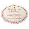 """DEI 12"""" Giving Dinner Plate"""