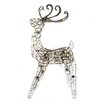 Brite Star 105 Light Multi Posing Grapevine Deer Sculpture Christmas Decoration