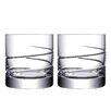 Orrefors Swerve DOF Glass (Set of 2)