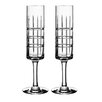 Orrefors Street Champagne Glass (Set of 2)