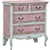 DUSX Isabella 4 Drawer Chest of Drawers