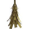 Evergreen Luminary Statue - Desert Steel Garden Statues and Outdoor Accents