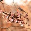 Cherry Blossom Window Decorative Bird Feeder - Desert Steel Bird Feeders