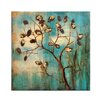 Bombay Autumn Tree Painting Print on Wrapped Canvas