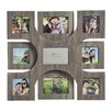 Melannco 9-Opening Wood Veneer Collage Frame