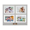 Melannco 4-Opening Distressed Floating Collage Frame