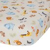 Lambs & Ivy Jungle Buddies Crib Sheet