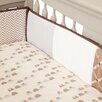 Lambs & Ivy Oatmeal Cookie Crib Bumper