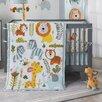 Lambs & Ivy Dena Happi Jungle 4 PieceCrib Bedding Set