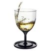 AdNArt Stackable Vino 10oz Wine Glasses (Set of 2) (Set of 2)