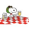 Marmont Hill Peanuts Snoopy Ace Drink Canvas Art