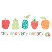 Marmont Hill 'The Very Hungry Caterpillar Character Tiny and the Very Hungry' by Eric Carle Painting Print on Wrapped Canvas