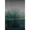 Marmont Hill Apple Lake-Painting Print on Brushed Aluminum