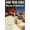 Marmont Hill Save Your Cans Graphic Art on Wrapped Canvas