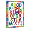 Marmont Hill Alphabet Letters Art Print on Premium Canvas