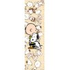 Marmont Hill Snoopy and Charlie Brown Canvas Growth Chart