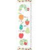 Marmont Hill Tiny and Hungry Caterpillars Canvas Growth Chart
