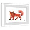 Marmont Hill Red Fox 2 Framed Art Print