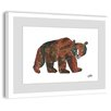 Marmont Hill Big Brown Bear 2 Framed Art Print