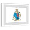 Marmont Hill Sticky Bear Framed Art Print