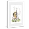 Marmont Hill Fun in the Sprinkler Framed Painting Print