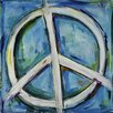 """Marmont Hill """"Finding the Peace"""" by Tori Campisi Painting Print on Canvas"""