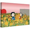 Marmont Hill Peanuts Lucy Pumpkin Patch Charles M. Schulz Painting Print on Wrapped Canvas
