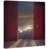 Marmont Hill Peanuts Heavens Door Surreal Artists Mixed Media Photographic Print on Wrapped Canvas