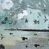 Marmont Hill First Frost Painting Print on Wrapped Canvas