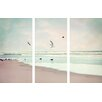 Marmont Hill Take Off Painting Print on Wrapped Canvas 3-Piece Set