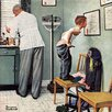 Marmont Hill Before the Shot by Norman Rockwell Painting Print on Wrapped Canvas