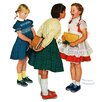 Marmont Hill Missing tooth by Norman Rockwell Painting Print on Wrapped Canvas