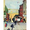 Marmont Hill San Francisco Cable Car by Mead Schaeffer Painting Print on Wrapped Canvas