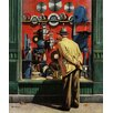 Marmont Hill Power Tool Window Shopping by Stevan Dohanos Painting Print on Wrapped Canvas