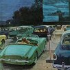 Marmont Hill Drive in Movies by George Hughes Painting Print on Wrapped Canvas