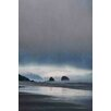 Marmont Hill Sea Stacks at Sunset Photographic Print on Wrapped Canvas