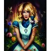 Marmont Hill Alice in Wonderland Graphic Art on Wrapped Canvas