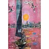 Marmont Hill Sky with Birds Graphic Art on Wrapped Canvas