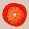 Marmont Hill September Orange 2 by Irena Orlov Graphic Art on Wrapped Canvas
